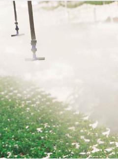 Climatização - Atomizador Fogger atuando em controle climático de estufa